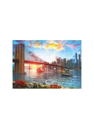 Art Puzzle Art Puzzle New York'Ta Günbatımı 1000 Parça Puzzle  Renksiz